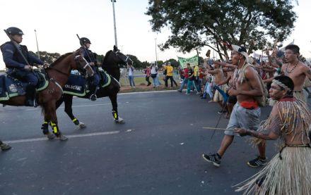 巴西原抗議