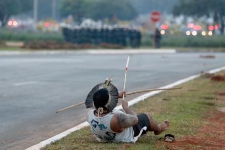APTOPIX Brazil WCup Protest